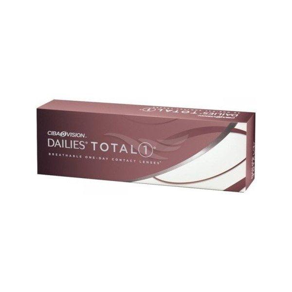 Vienadieniai kontaktiniai lęšiai Dailies Total1 (30vnt)