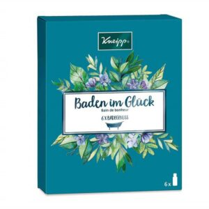 Vonios aliejų rinkinys Kneipp Baden im Glück 6x20ml