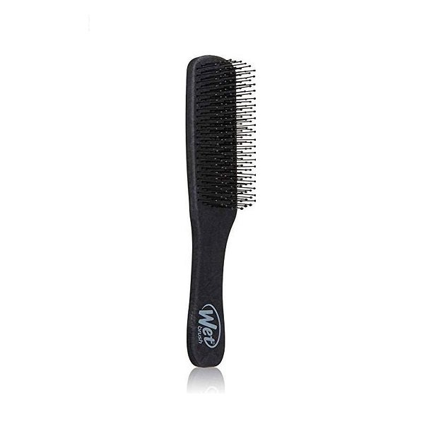 Vyriškas plaukų šepetys WetBrush Men's Detangler (juodas) iš šono