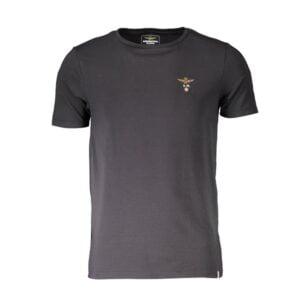 Vyriški juodi apatiniai marškinėliai Aeronautica Militare