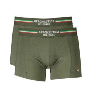 Žalios vyriškos trumpikės Boxer Aeronautica Militare, 2vnt