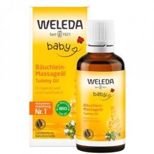 Aliejus kūdikiams nuo pilvo pūtimo Weleda Baby Tummy Oil 50ml