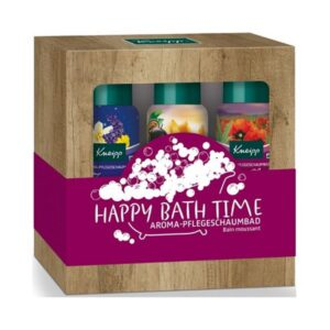 Vonios putų rinkinys Kneipp Happy Bath Time 3x100ml