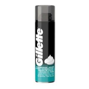 Vyriškos skutimosi putos jautriai odai Gillette 200ml