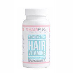 Maisto papildai moterų plaukams Hairburst 60vnt (nuo 35 metų)
