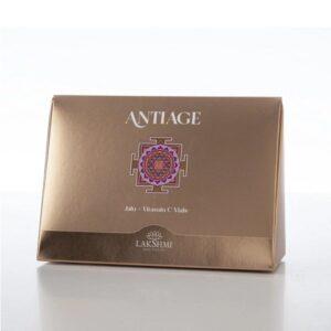 Kapsulės su hialuronu ir vitaminu C veidui Lakshmi Antiage 15x08ml dėžutė