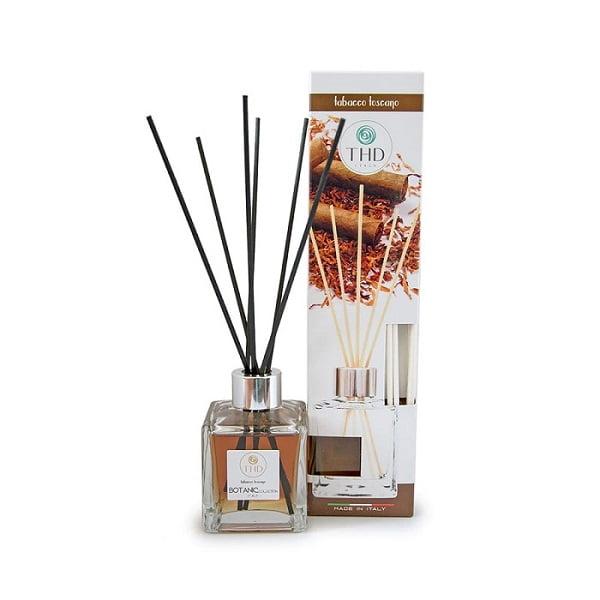 Namų kvapas THD Botanic Tabacco Toscano 120ml su dėžute