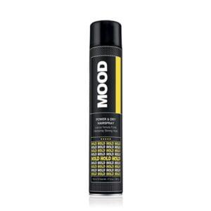 Plaukų lakas stiprios fiksacijos MOOD Power&Dry 750ml