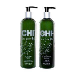 Rinkinys balansuojantis galvos odą CHI Tea Tree Oil Duo 340ml+340ml