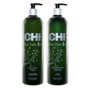 Rinkinys balansuojantis galvos odą CHI Tea Tree Oil Duo 739ml+739ml