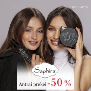 Saphira antrai prekei nuolaida