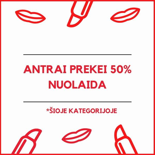 AKCIJA ANTRAI PREKEI 50% MAMA IMAM
